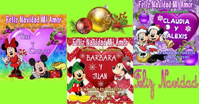 Lindas Imagenes Navidenas Con Minnie Y Mickey Imagenes Navidenas