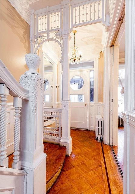 Hancock Street Brooklyn Victorian Foyer | by techpro12 https://www.flickr.com/photos/39108224@N02/23228334260/in/photostream/