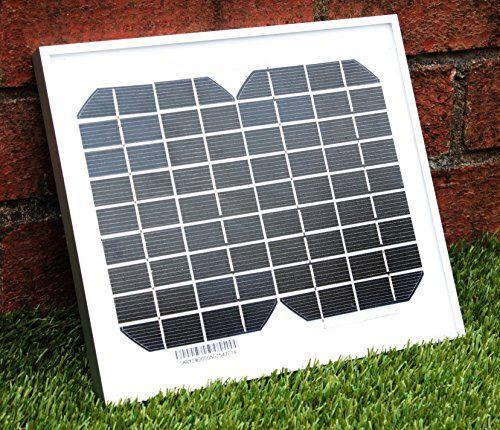 PK Green 5 Watt / 12 V monokristallines Solarmodul Solarpanel - f�r Caravan, Camping, Boote