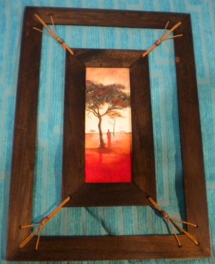 1000 ideas sobre marcos r sticos en pinterest madera - Cuadros para dormitorios rusticos ...