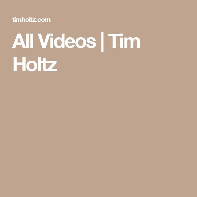 All Videos | Tim Holtz