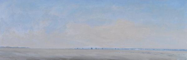 Het strand - mijn favoriete plek - geschilderd door Gerard Koster