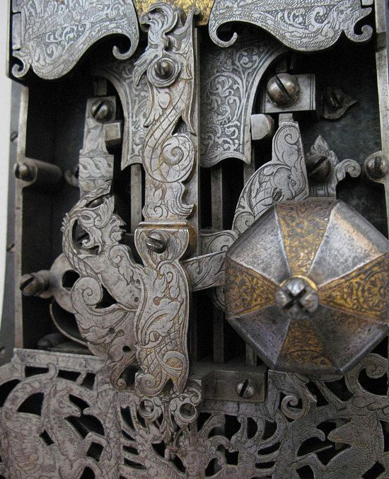 Intricate ironwork, found at the Victoria and Albert Museum, London.