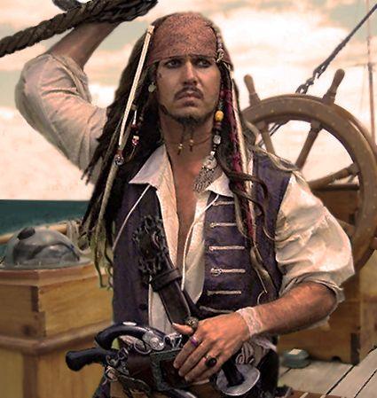 Captain Jack Sparrow (George Prince) sails into the Gold Coast Renaissance Faire 2-3 October, 2016!