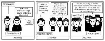 XYZ Affair cartoon
