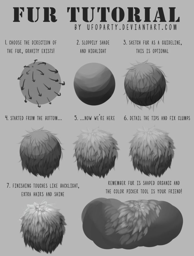 Someone in a stream made a fur tutorial and it inspired me to make my own ;o; This is how I paint fur, which I only started recently but I thought I'd share for people who are struggling. If you ha...