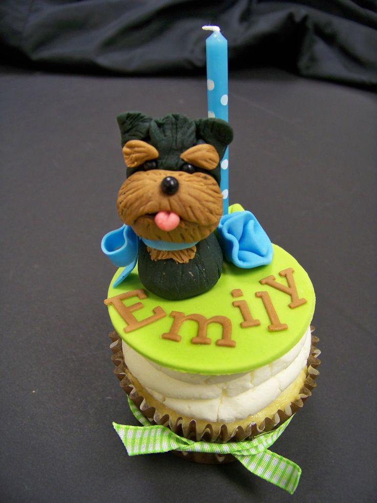 Puppy Dog Cupcakes - sweet