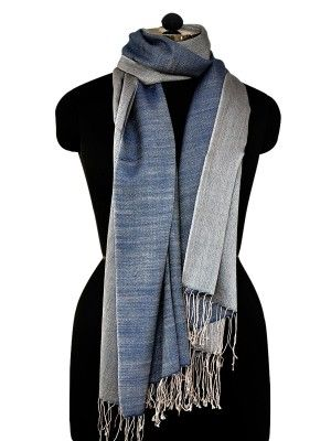 Cashmere Silk Scarf - mixed feelings-4 by VIDA VIDA