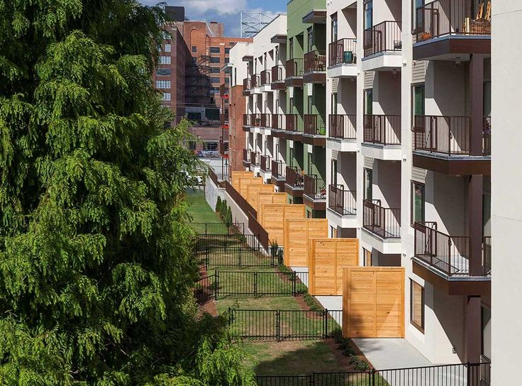 Select Apartment Homes Feature Private Fenced Yards