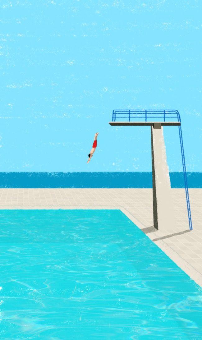 Illustratrice freelance habitant Fribourg en Allemagne, Raphaelle Martin n'en adore pas moins les couleurs vibrantes et l'éclat de journées ensoleillées vo