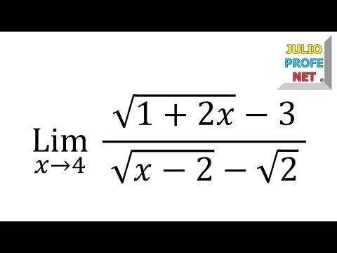 Límites algebraicos - Ejercicio 14 - YouTube