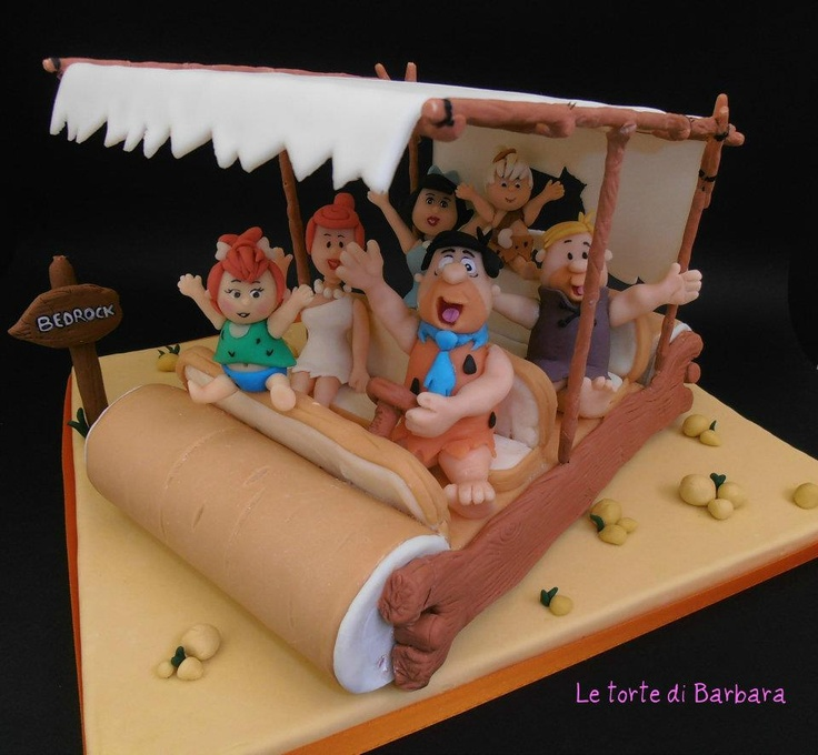 Flintstones Cake                                                                                                                                                                               «CaKeCaKeCaKe»