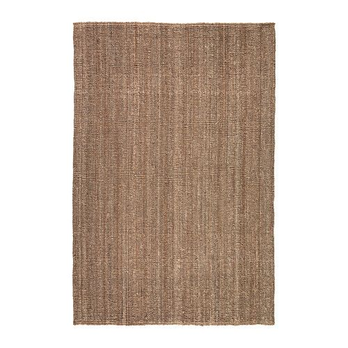 "IKEA - LOHALS, Rug, flatwoven, 5 ' 3 ""x7 ' 7 "", , Jute is a durable and recyclable material with natural color variations."