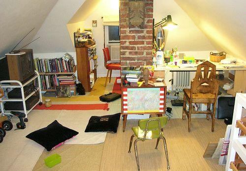 art studio attic - Google Search