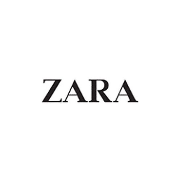 History of All Logos All Zara Logos ❤ liked on Polyvore