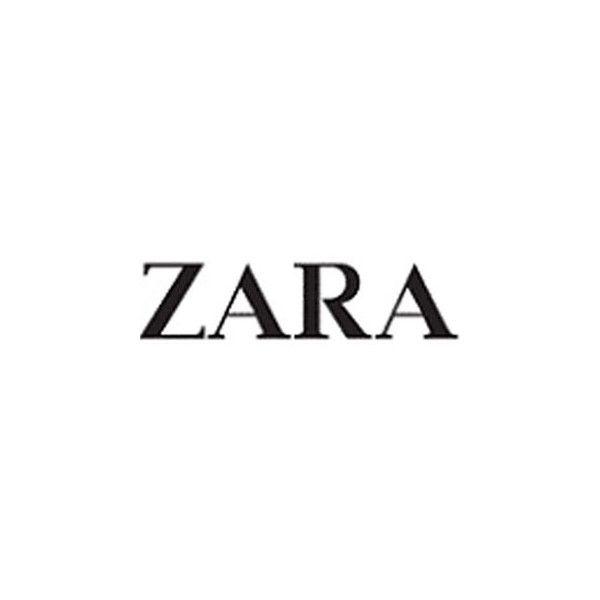 History of All Logos All Zara Logos ❤ liked on Polyvore