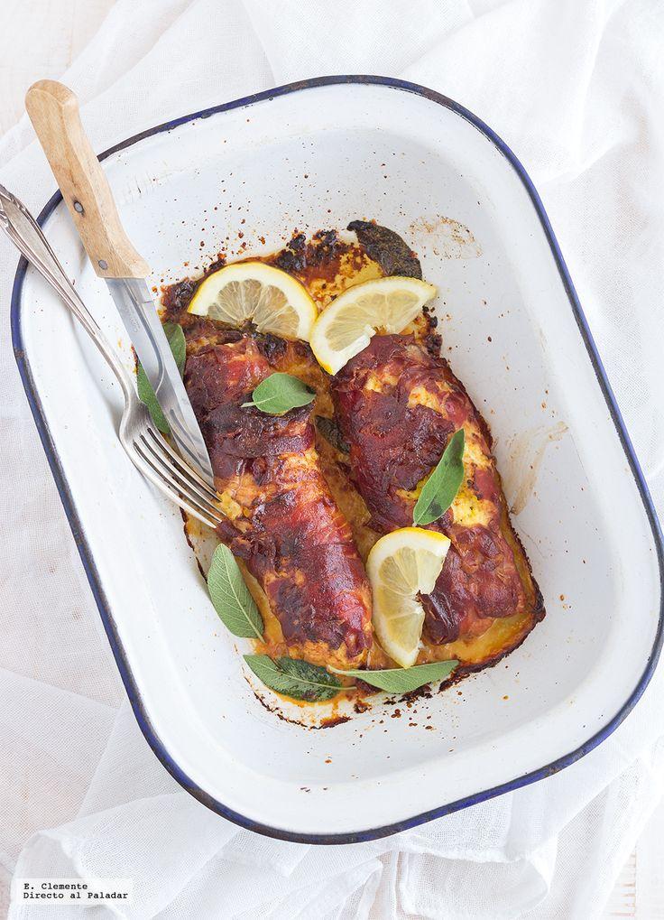 Un paupiette es un filete de carne de ternera, golpeado hasta dejarlo fino y enrollado sobre un relleno de verdura, fruta o carne y muy típico de ...