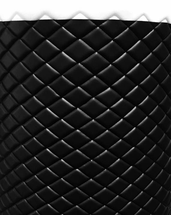 Vinyl Leather Faux Smooth Pvc Black Quilted Vinyl Auto Headliner