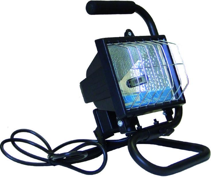 Projecteur Halogene Sur Pied Portable Noir 120W au meilleur prix! - LeKingStore