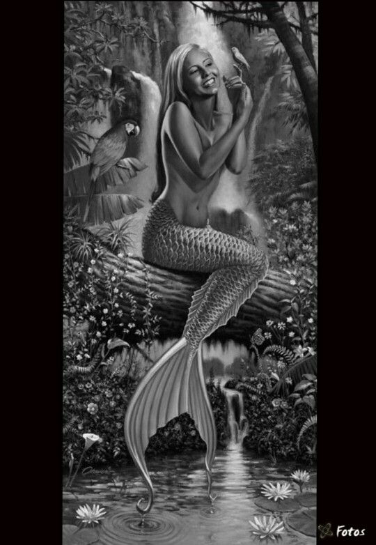 Mermaid Siren Fantasy Myth Mythical Mystical Legend