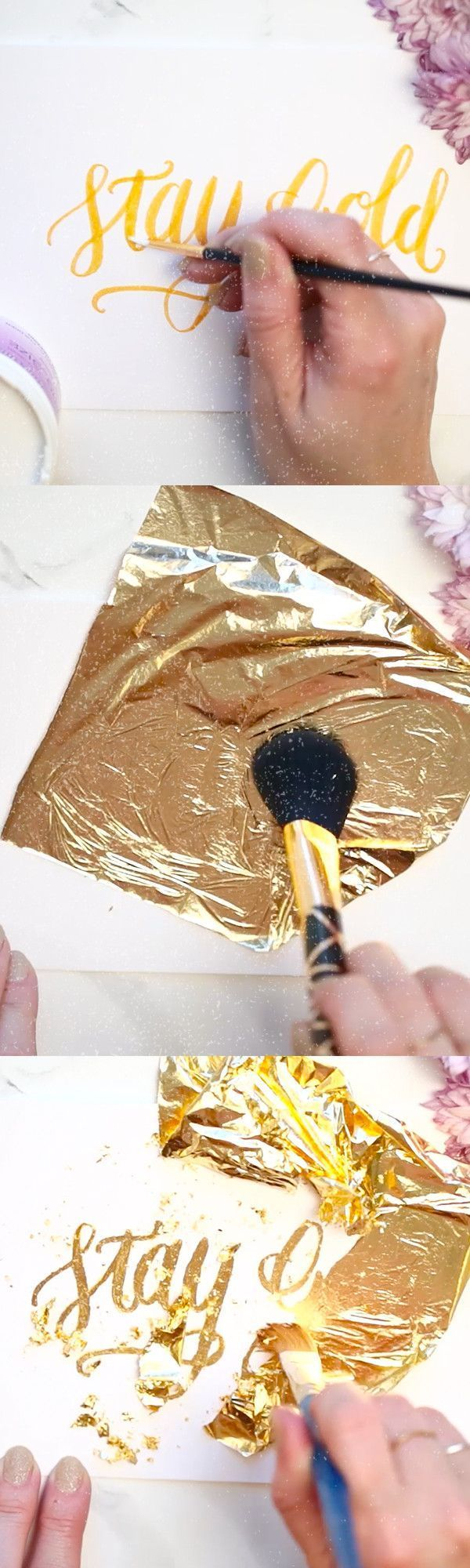 On the Creative Market Blog - How To Use Gold Foil To Create Greeting Cards & Invitations