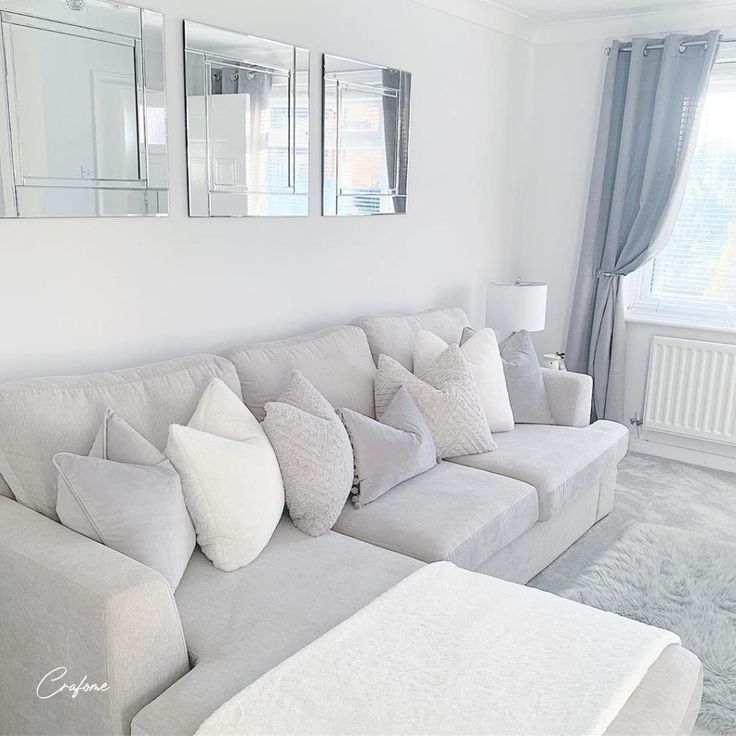 White Minimalistinterior Design: 50+ Grey Living Room Ideas You Must Look