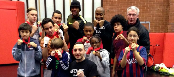 Afewee Boxing Club provides an outlet for young people in Brixton.