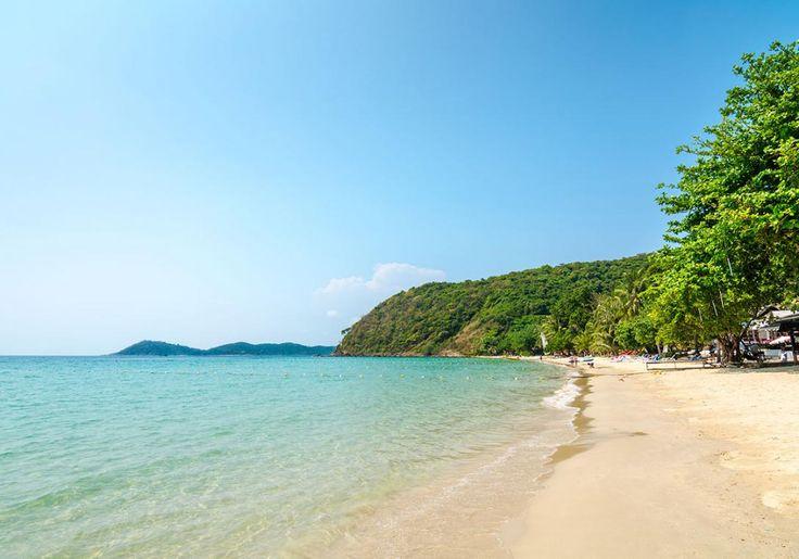 Koh Samet i Thailand har dejlige byer og smukke strande. Øen er omgivet af koraler på lavt vand, så det er ideelt til snorkling.