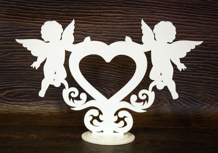 """Купить рамочка для фото """"сердце с ангелами"""" оптом от производителя"""