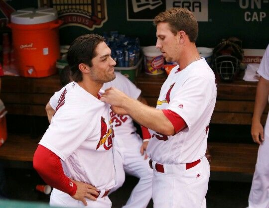 stl cardinals randal grichuk and stephen piscotty