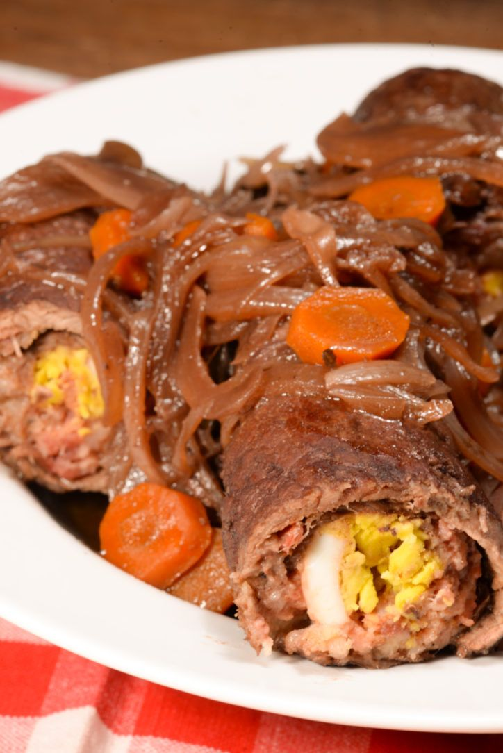 Maltese Bragioli also known as beef olives are slowly braised stuffed bundles of beef.  The term olive is a bit confusing as there are no olives in this recipe but it turns out they got their name because they are stuffed and somewhat resemble the shape of an olive when cooked.  This dish can ...