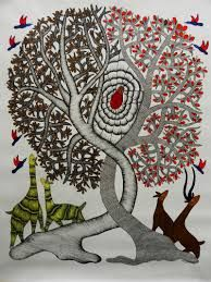 Image result for gond art paintings