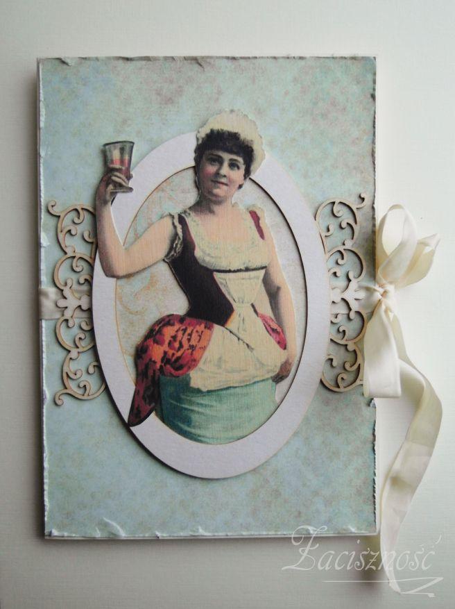 Ręcznie robiona laurka urodzinowa/ Handmade birthday card