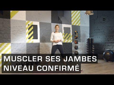 Fitness Master Class - Comment affiner ses cuisses rapidement après la grossesse - Lucile Woodward - YouTube