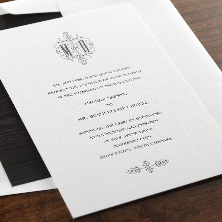Superb Eternal Wedding Invitation By Checkerboard Ltd.