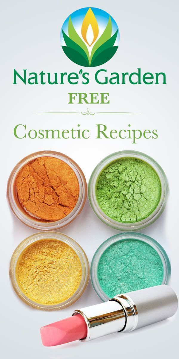 Free Natural Cosmetics Recipes from Natures Garden.  Make your own cosmetics.  #cosmeticrecipes