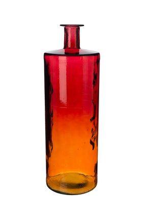 Red vase / Czerwony wazon
