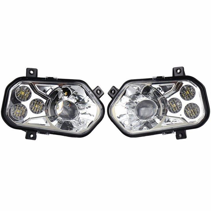 (199.00$)  Buy here  -  2pair ATV Accessories UTV LED Headlight kit Lamp for Polaris Razor 1000 2014-2016 RZR XP 4 1000 2016 RZR XP 4 TURBO