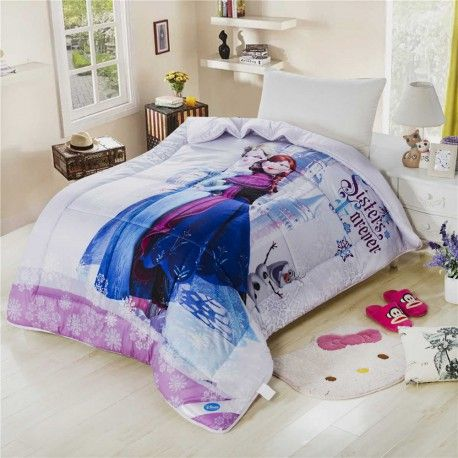 Lotti-poppi.com > günstig Kinder-Tagesdecke Winterdecke Disney Frozen Anna u. Elsa online kaufen