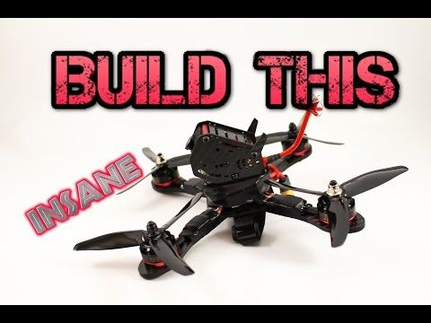 DIY. How to build a Racing drone/quadcopter. Full Kit guide GB 190 - YouTube