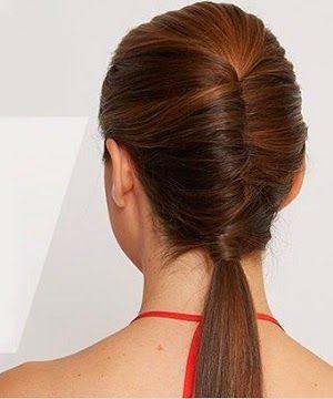Evde yapılan basit saç modelleri 2014-2015 Kolay saç modelleri