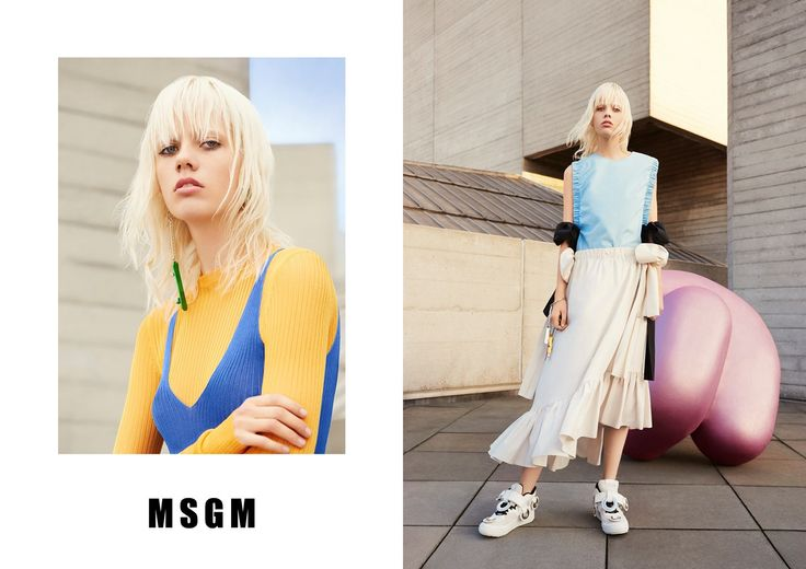 MSGM SS16 Campaign shot by Ben Toms