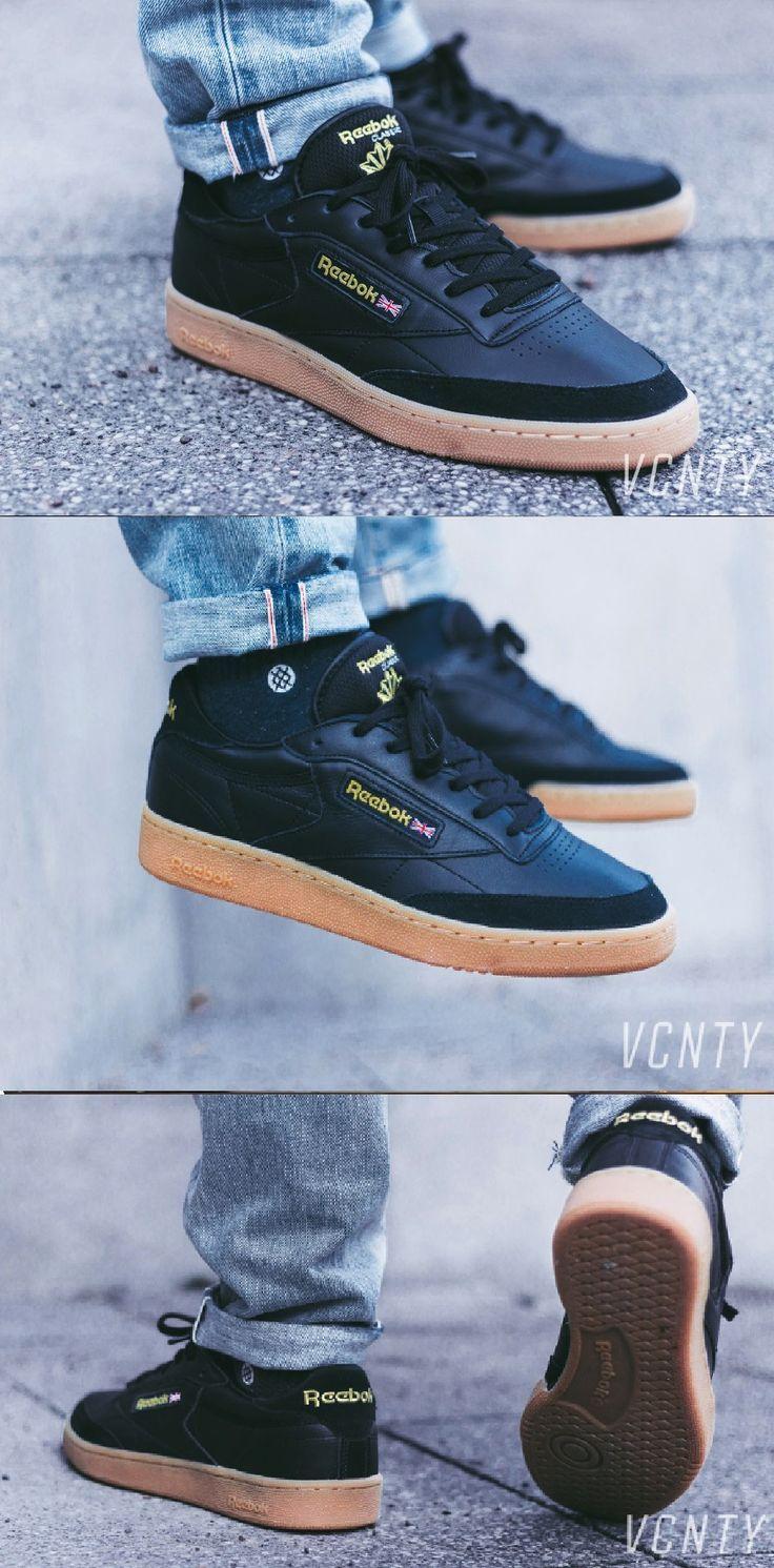 Reebok Club C 85 TDG #sneakers #reebok #c85 #vintage #streetstyle #streetwear #look #blackgum