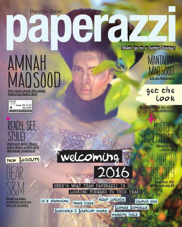Pakistan Today Paperazzi issue 124 a jan 17th 2016 by Pakistan Today - issuu