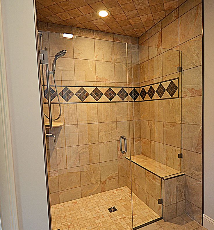 76 best Custom tile showers images on Pinterest | Bathroom ...