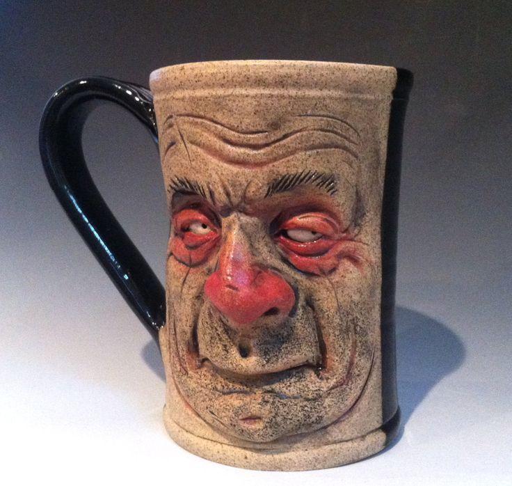 Ceramic Mugs For Sale Part - 35: Mr 5 Ou0027Clock Shadow Mug - FOR SALE By Thebigduluth.deviantart.com