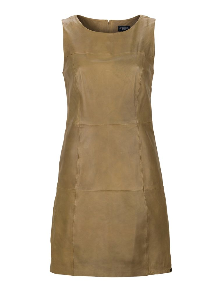 For the perfect #utilitarian look: #leather dress from #McGregor
