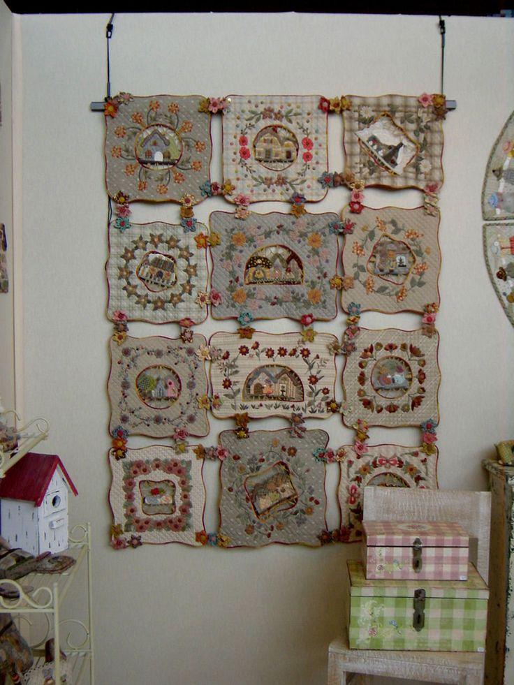 Isadarena passions reiko kato patchwork japon s - Reiko kato patchwork ...