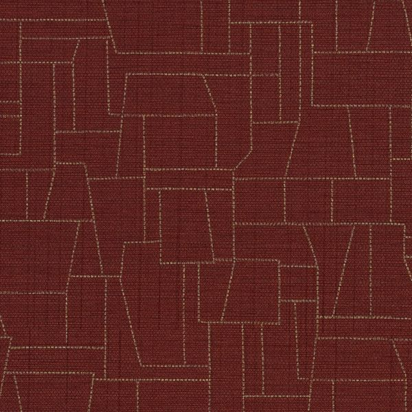 DN2-ZTO-15 | Yellows | Burgundy | Levey Wallcovering and Interior Finishes: click to enlarge