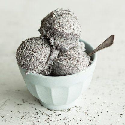 Amaretto-Mohn-Eis